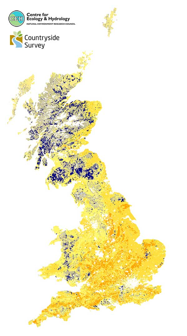 Countryside survey of topsoil in Great Britain | UK Soil Observatory