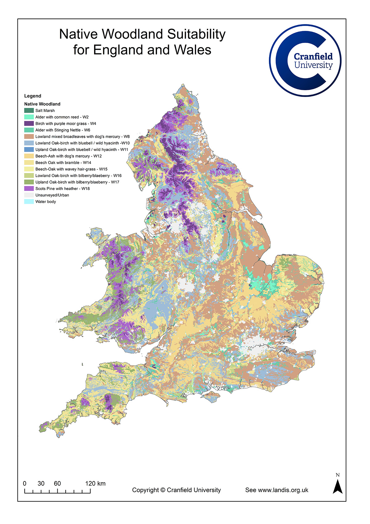 Map Of England Wales.The Soils Of England And Wales Uk Soil Observatory Uk Research